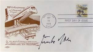 German Air Ace GUNTHER RALL - Postal Cvr Signed
