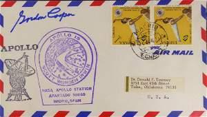 Mercury Astronaut GORDON COOPER - Postal Cvr Signed