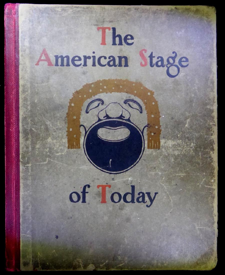 American Stage - Book Signed by 24 incl BILLIE BURKE