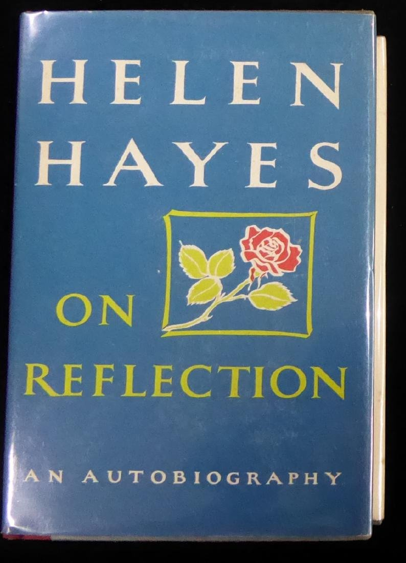 First Lady of the Stage HELEN HAYES - Her Book Signed