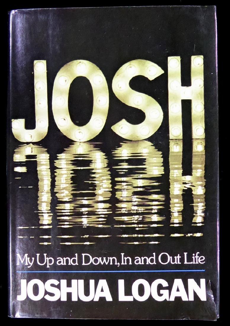 Director JOSH LOGAN - His Book Signed