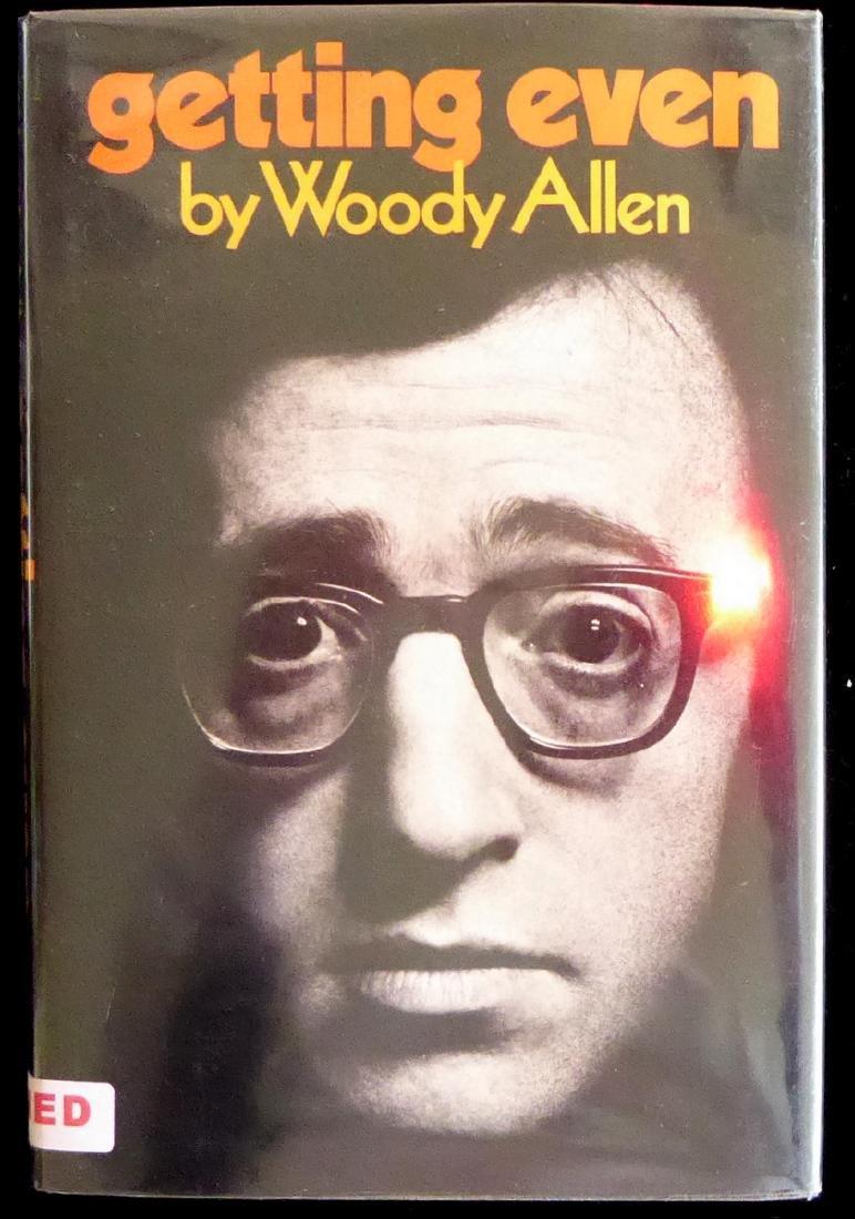 Filmmaker, Comic WOODY ALLEN - His Book Signed