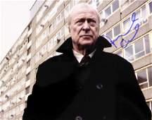 British Actor MICHAEL CAINE - Photo Signed