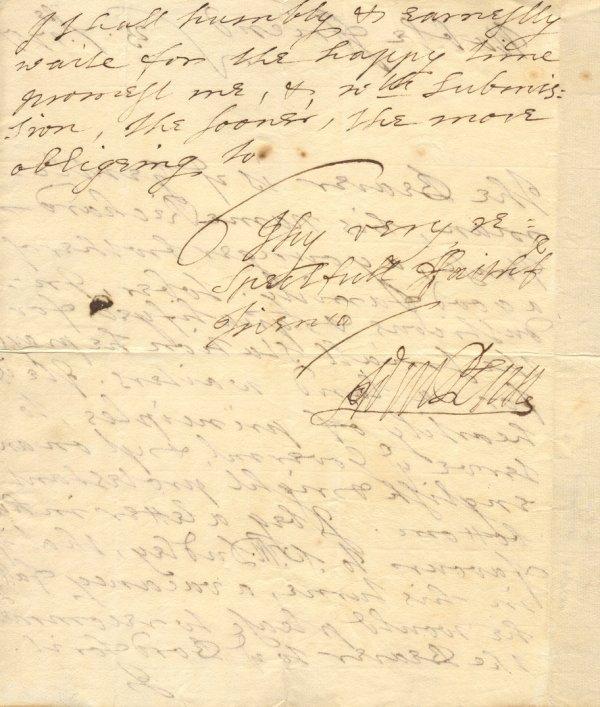 3: Quaker Leader WILLIAM PENN - Autograph Ltr Signed