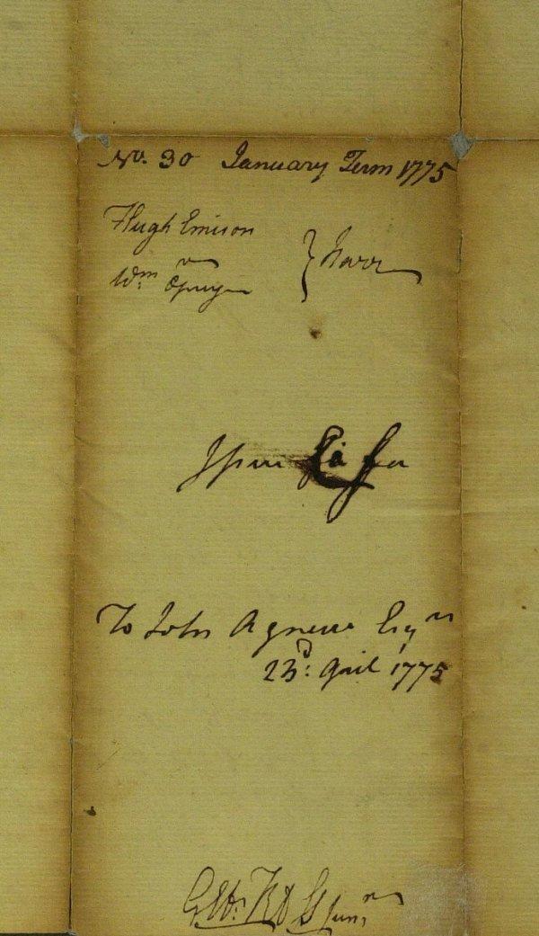 11: Signer GEORGE ROSS - Legal Document Signed