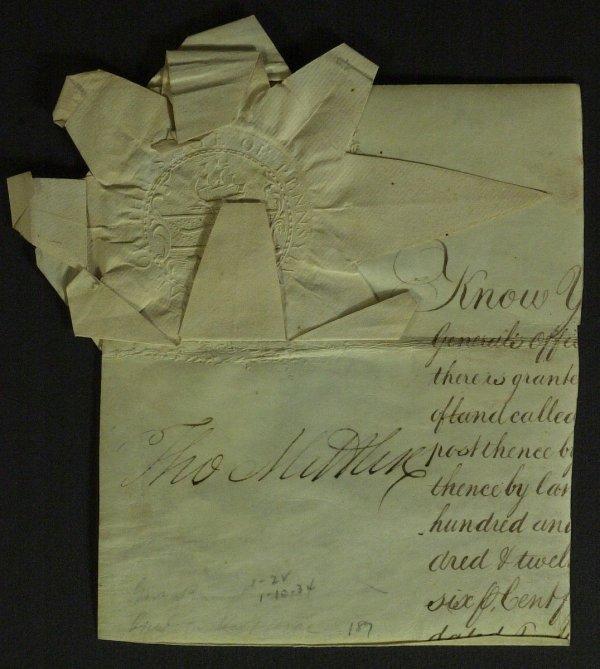 22: General, PA Gov THOMAS MIFFLIN - Document Signed