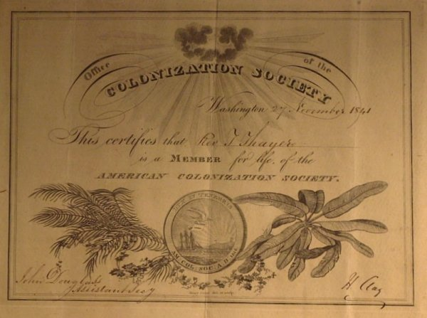 235: Great Compromiser HENRY CLAY- Appointment Signed