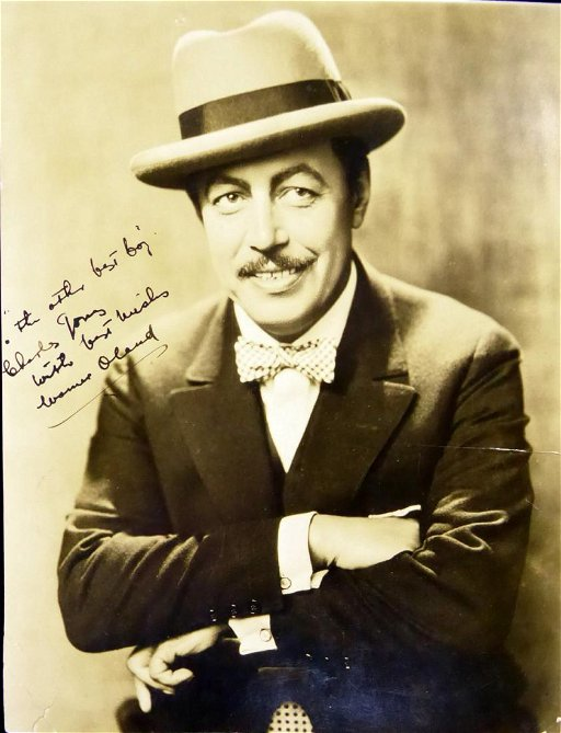 Charlie Chan Actor WARNER OLAND - Photo Signed - Dec 15, 2018 | The