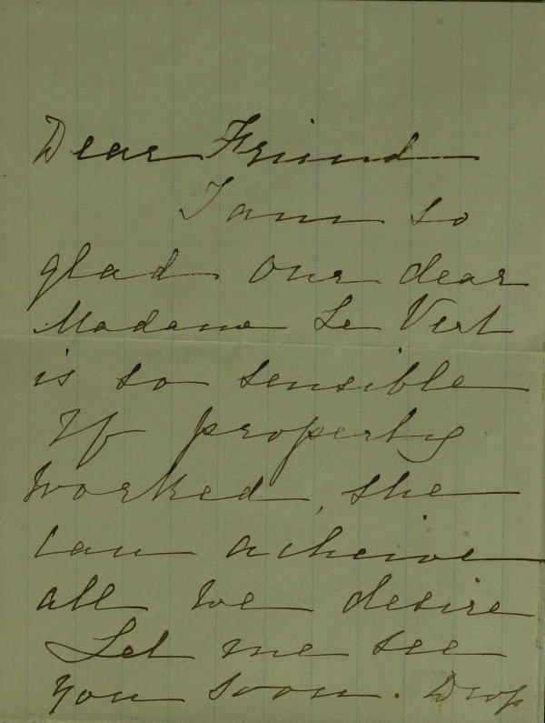 14: Pres Lincoln LAURA KEENE - Autograph Ltr Signed