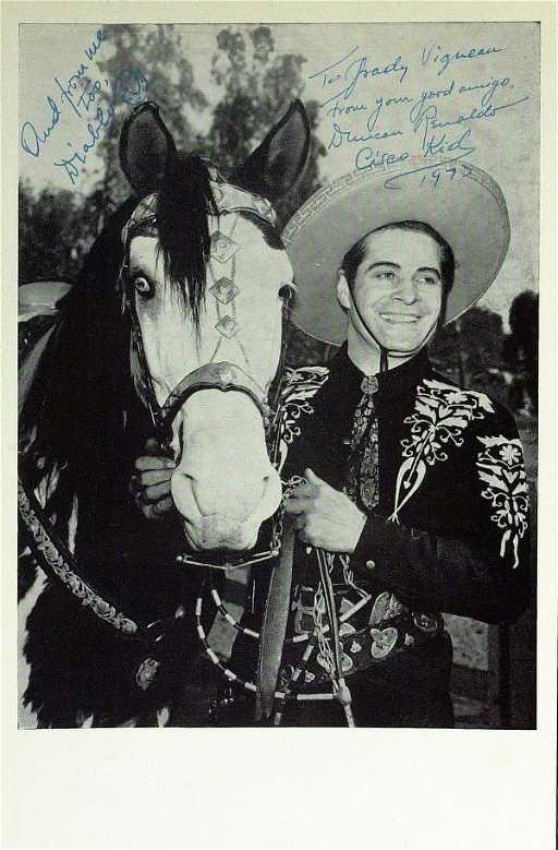 514 Cisco Kid Actor DUNCAN RENALDO