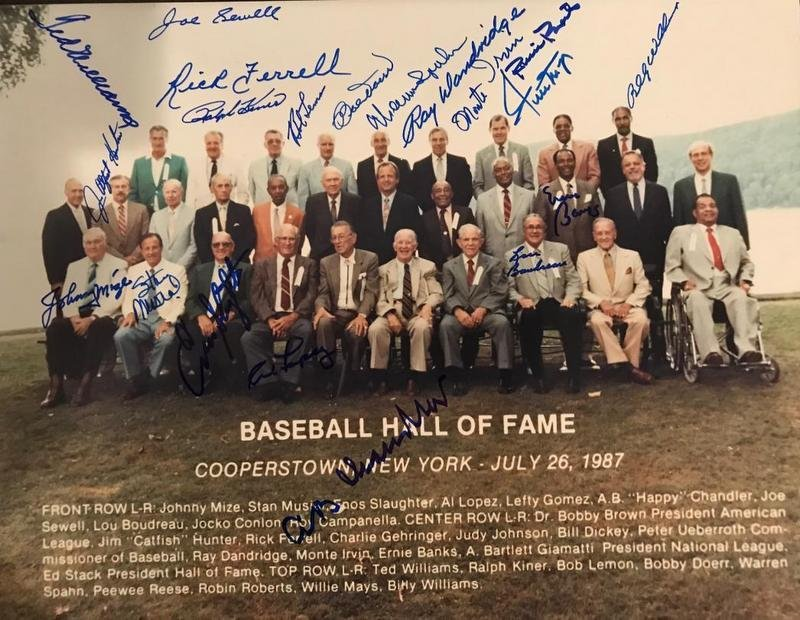1987 HALL of FAME INDUCTION - Photo