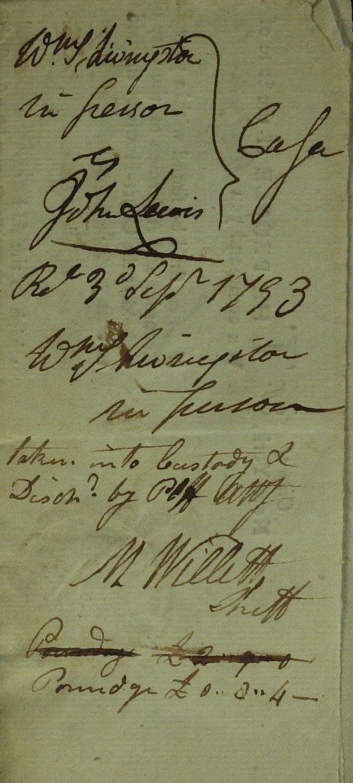 13: NY Mayor, Patriot MARINUS WILLETT - Doc Signed 1793