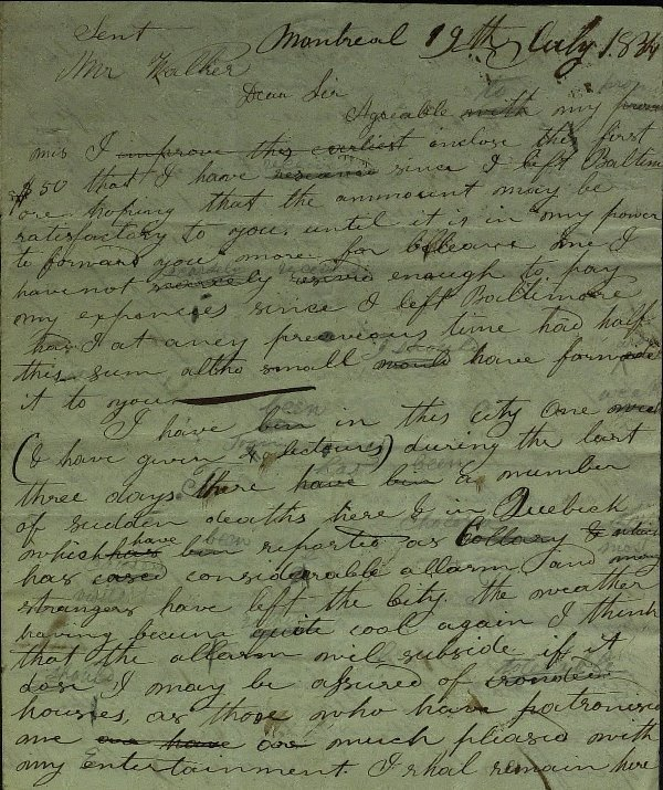 46: Inventor SAMUEL COLT - RARE Autograph Ltr Signed