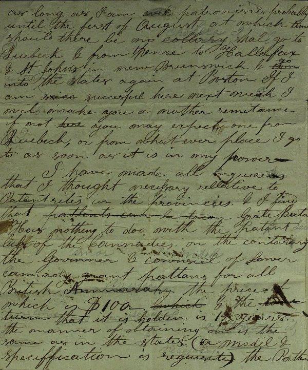 46: Inventor SAMUEL COLT - RARE Autograph Ltr Signed - 2