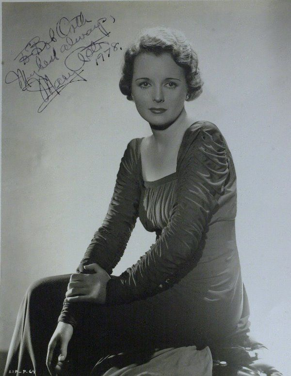 Actress MARY ASTOR - Photo Signed
