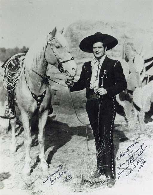 594 Cisco Kid Actor DUNCAN RENALDO