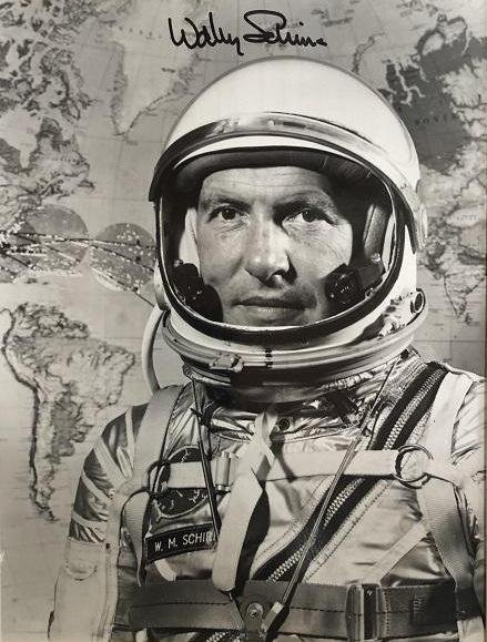 Mercury Astronaut WALLY SCHIRRA - Photo Signed