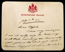 British Monarch EDWARD VIII - Autograph Ltr Signed