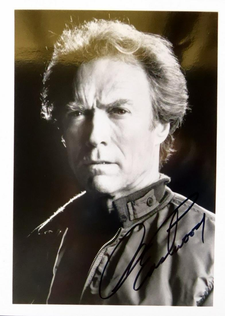Actor CLINT EASTWOOD - Photo Signed