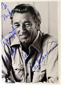 Actor ROBERT MITCHUM - Photo Signed