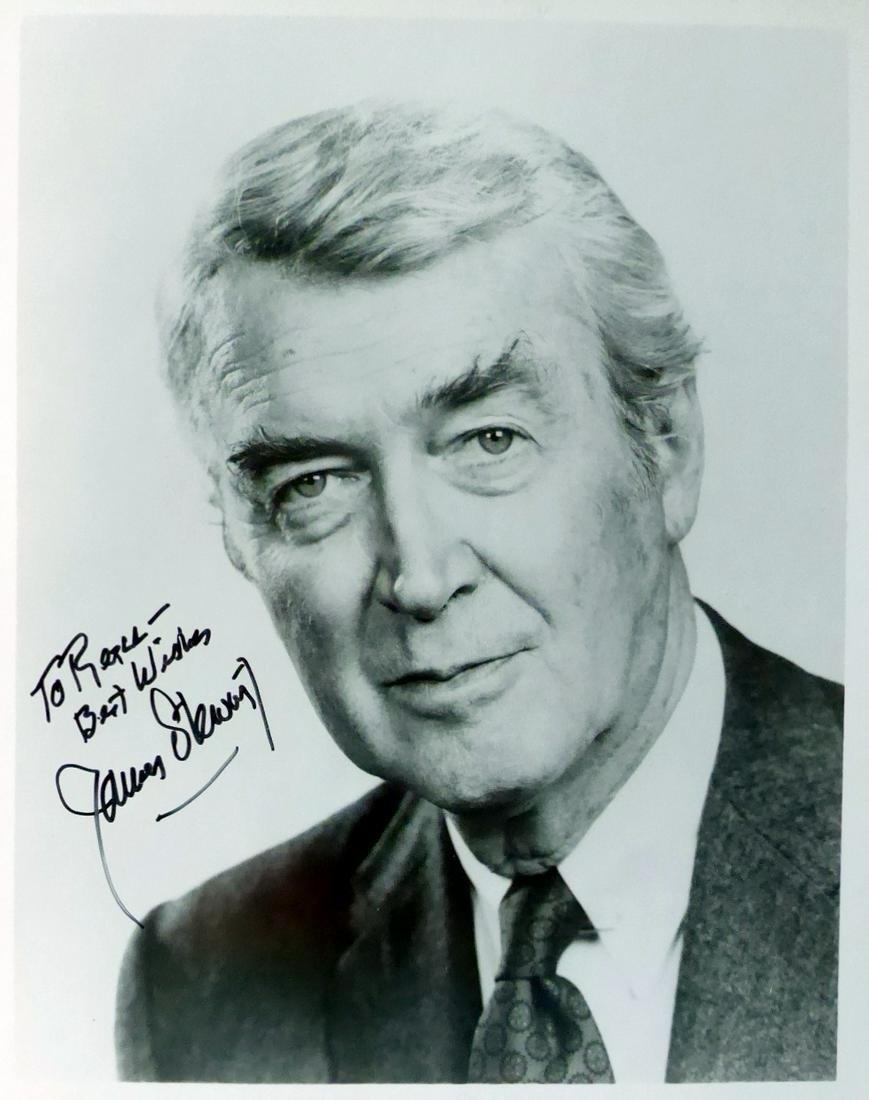 Actor JAMES STEWART -  Photo Signed