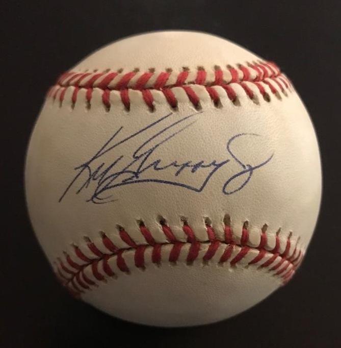 Outfielder KEN GRIFFEY, JR. - Official Baseball Signed