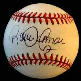 Blue Jay HOFer ROBERTO ALOMAR Signed Ball