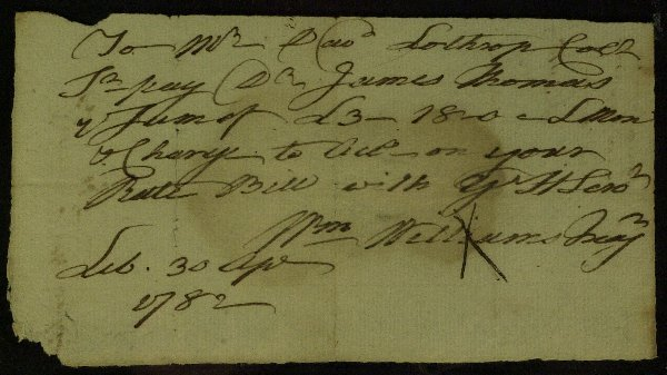7: CT D of I Signer WILLIAM WILLIAMS - Document Signed