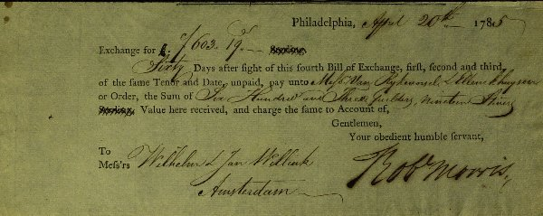 10: PA D of I Signer ROBERT MORRIS - Financial Doc Sign