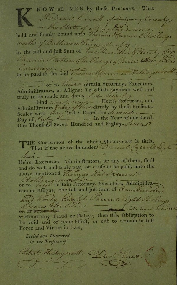 12: MD Statesman DANIEL CARROLL - Document Signed