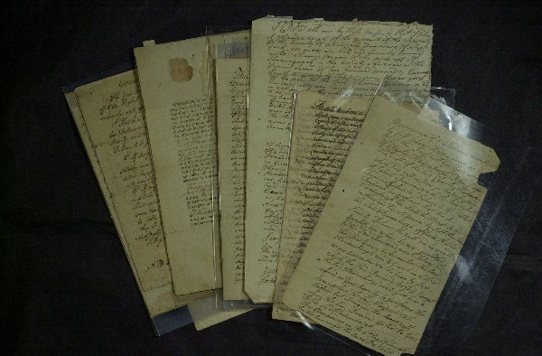 24: HARDENBERGH Family Archive 1747 Thru 1808- 12 Docs