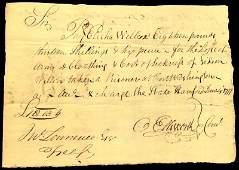 Founding Father OLIVER ELLSWORTH - 1777 Payorder