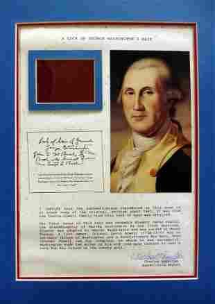 1st President (GEORGE WASHINHTON)- 3 Strains of His