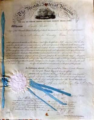 7th President ANDREW JACKSON - Patent