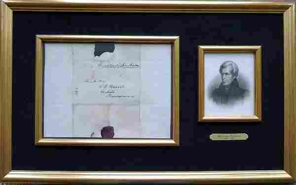 7th President ANDREW JACKSON - Framed FF