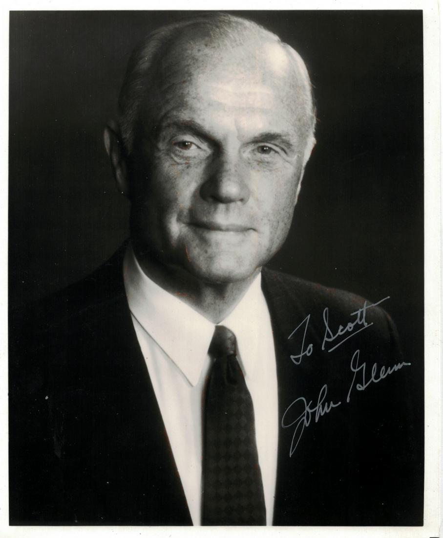 Astronaut, Senator JOHN GLENN - Photo