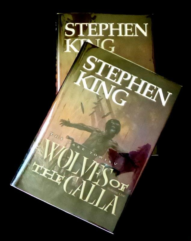 """Author STEPHEN KING - """"The Wolves of the Calla"""", Ltd"""