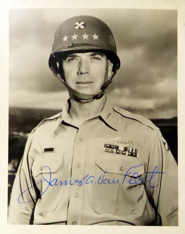 General JAMES A VAN FLEET - Photo