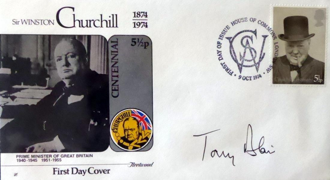 British Politician TONY BLAIR - Postal Cover