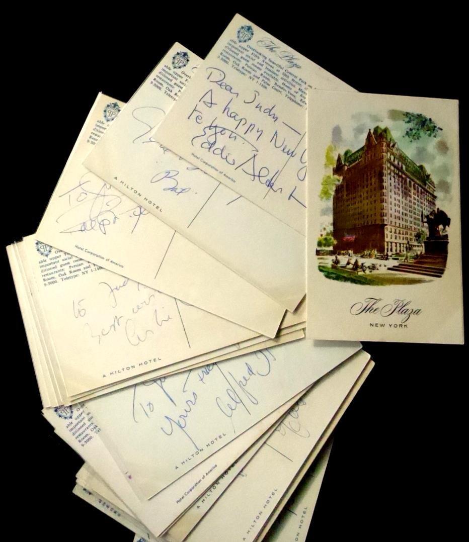 AUTOGRAPH COLLECTION - Twenty-Nine Postcards