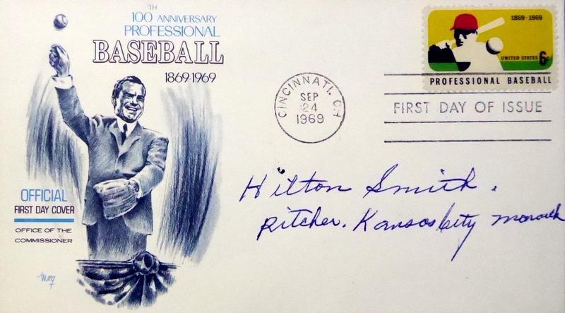 Negro Leagues Pitcher HILTON SMITH - Postal Cover