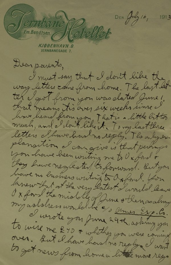 630: Oil Tycoon J Paul Getty - Remarkable Autograph Ltr