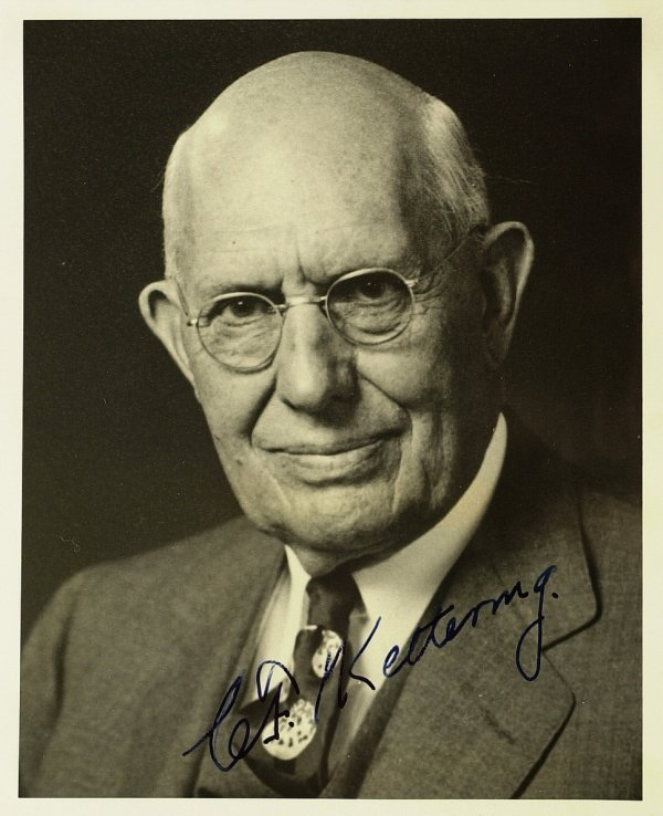 637: Inventor CHARLES KETTERING - Photo Signed