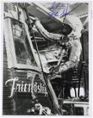 682 Mercury Astronaut JOHN GLENN  Three Photos Signed
