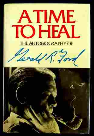 38th Pres GERALD R. FORD - His Book Signed, 1st Ed