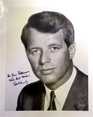 Atty Gen., Senator ROBERT F. KENNEDY - Photo Signed