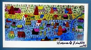 Folk Artist HOWARD FINSTER - Print Signed