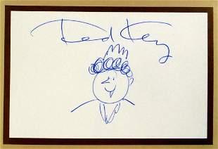 Cartoonist TED KEY - Hazel Sketch Signed