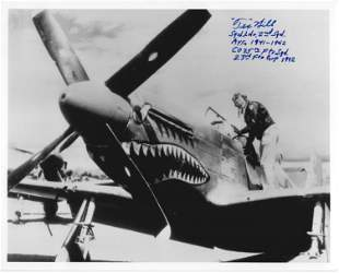 Air Ace TEX HILL - Photo Siged