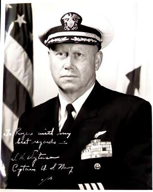 Naval Aviator, Ace SWEDE VEJTASA - Photo Signed